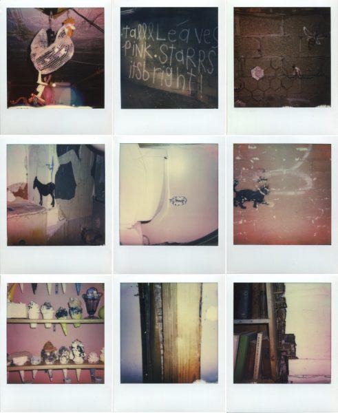 Maya Quattropani, The House, 2015, 21 Colour Polaroid, 8.8x10.7 cm