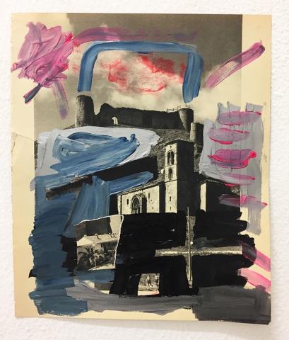Federico Luger, Spain Book, 2011, mixed media, cm 25,5x30,5 each