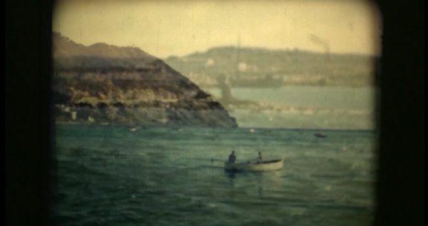 """Silvia Margaria, Deriva / De'riva, 2005, 8 mm film overlay video, color 7'41"""", still da video"""
