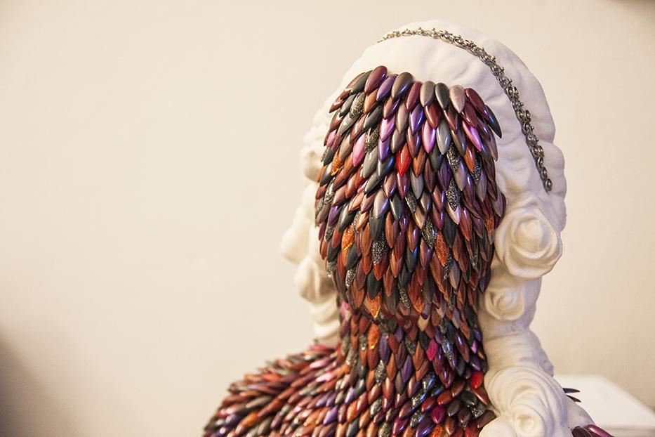 Enrica Borghi, Busto di donna