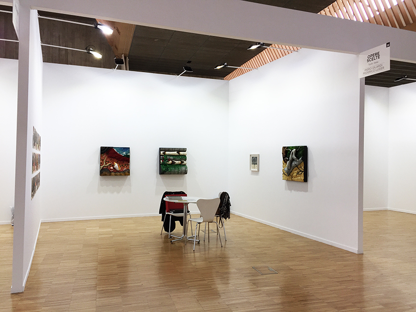 Arte Santander, booth view