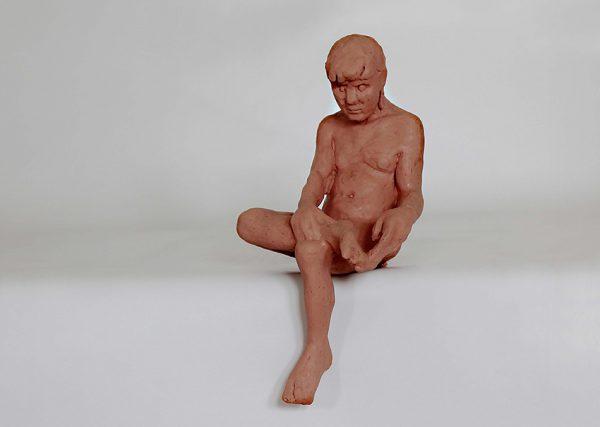 Miro Trubac, Pedro, 2013, gomma siliconica, 6x25x8,5 cm