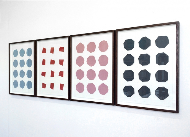 James Brooks, Transformations of cities, installation view