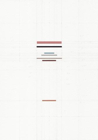 Abridged series: On Painting by Leon Batista Alberti (Domenico Veneziano), 2016, gouache, scalpello, penna e acquerello su carta da archivio, 29.7 x 21cm